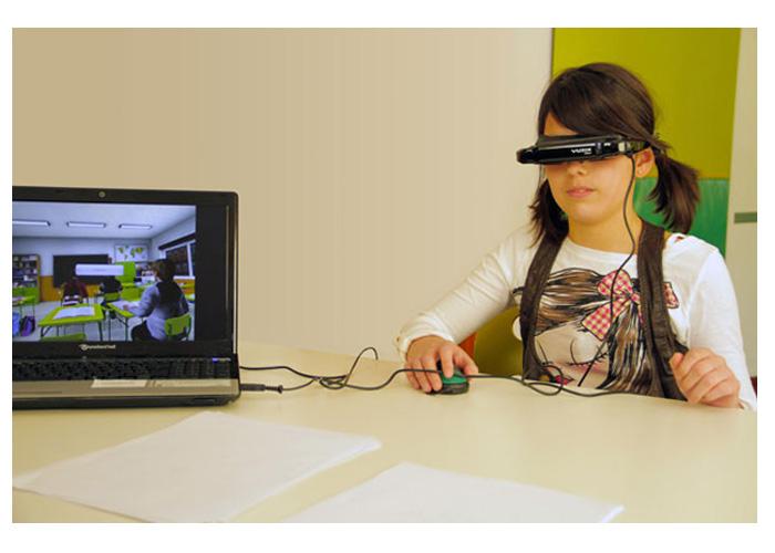 aula nesplora realidad virtual